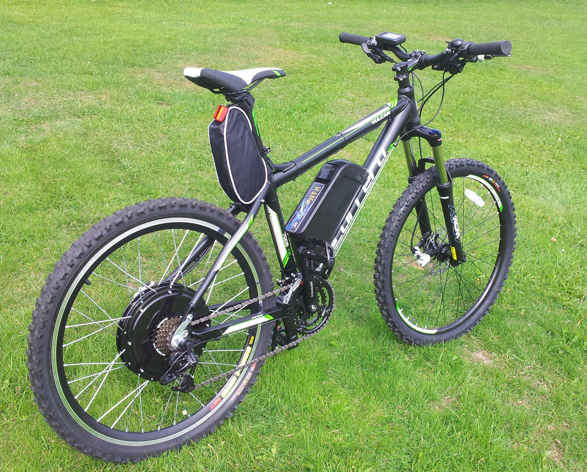 electric mountain bike 48v 1000w very fast top spec. Black Bedroom Furniture Sets. Home Design Ideas