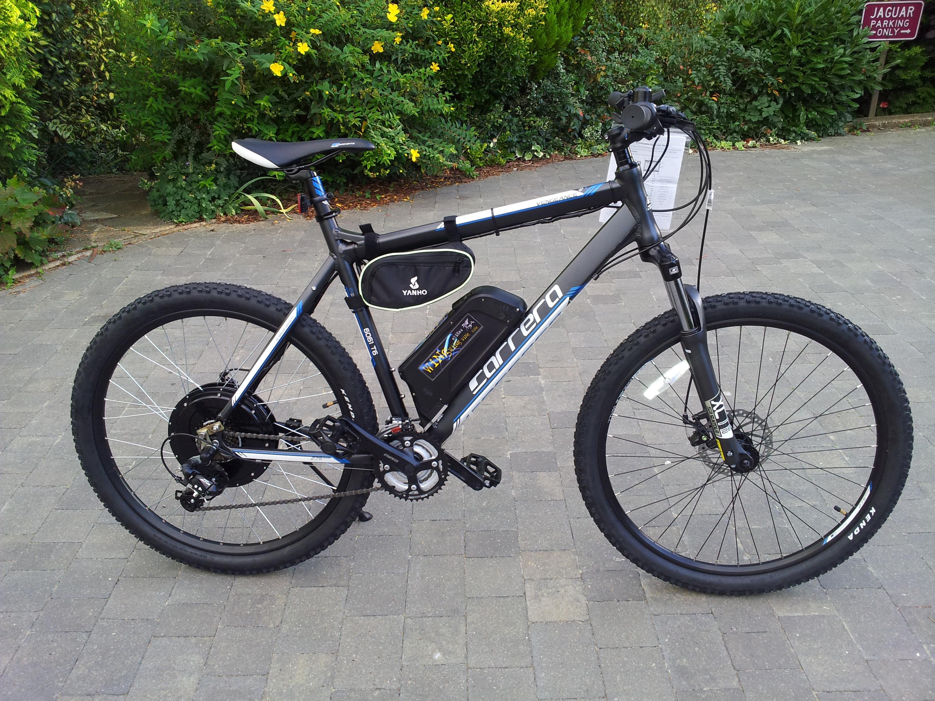 Electric Bike Carrera Vengeance Ebike 2015 1000w Very Fast 48v