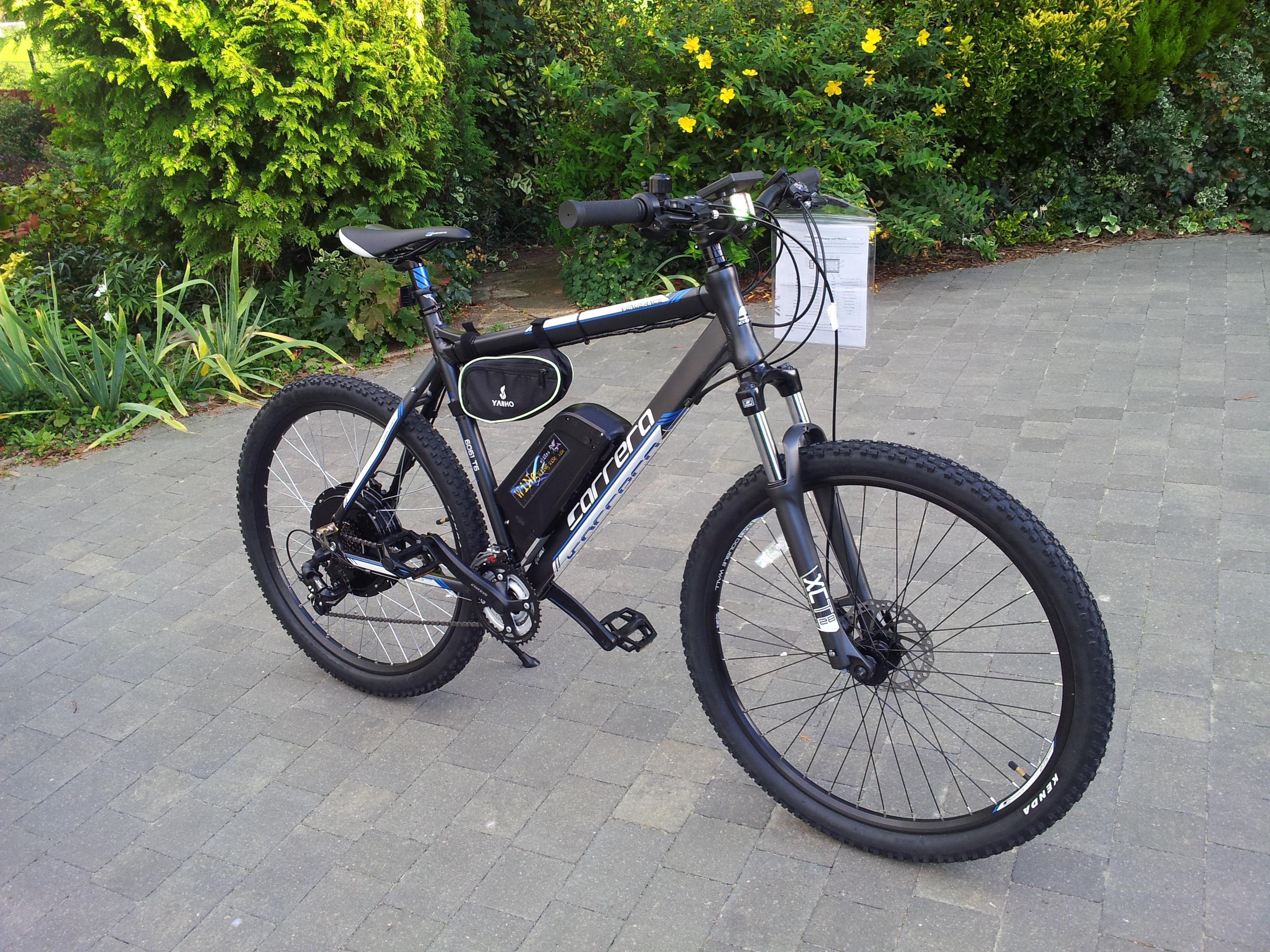 Electric Bike Carrera Vulcan Ebike 2015 1000w Very Fast 48v