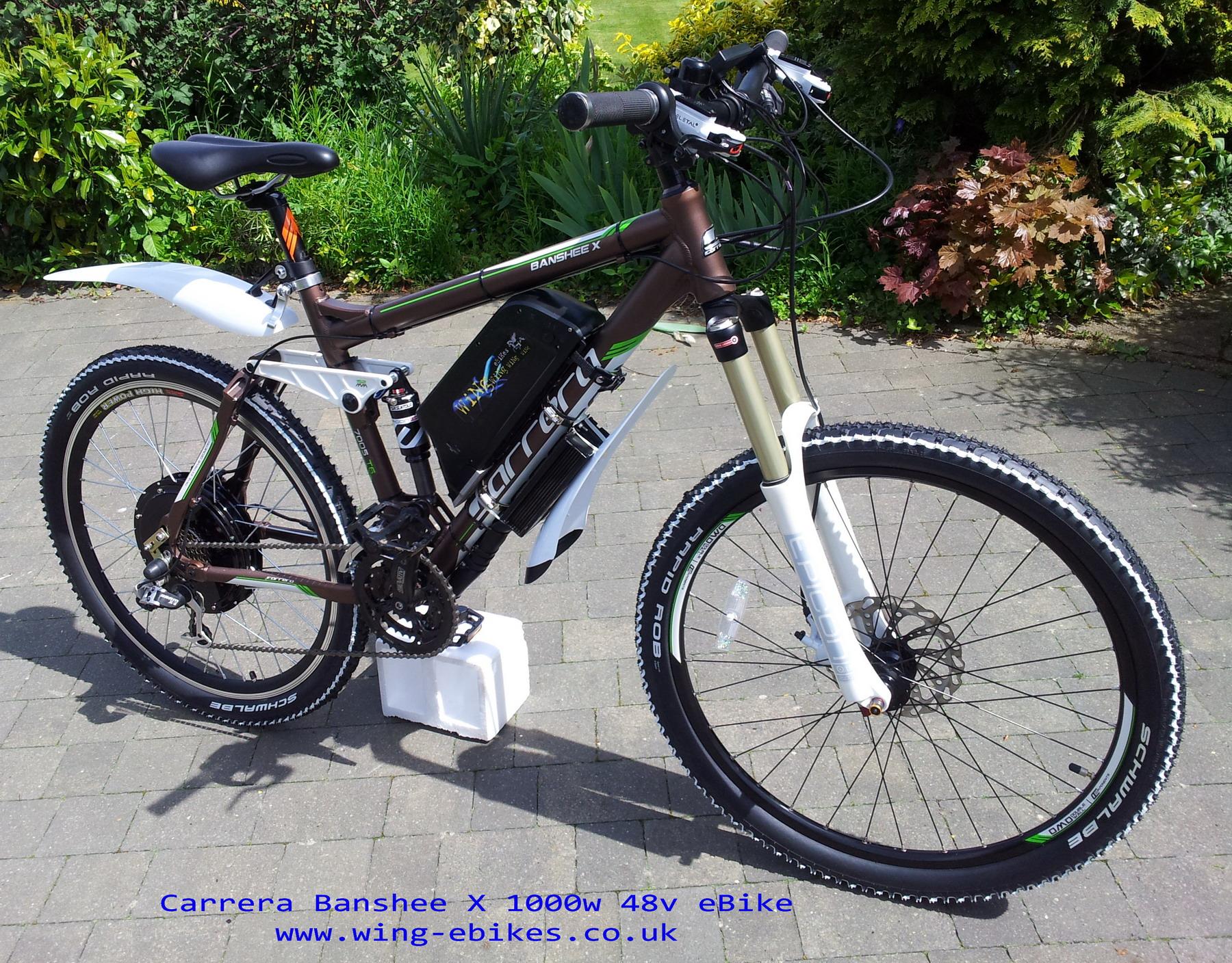 Carrera banshee x electric bike for Colorado motorized bicycle laws