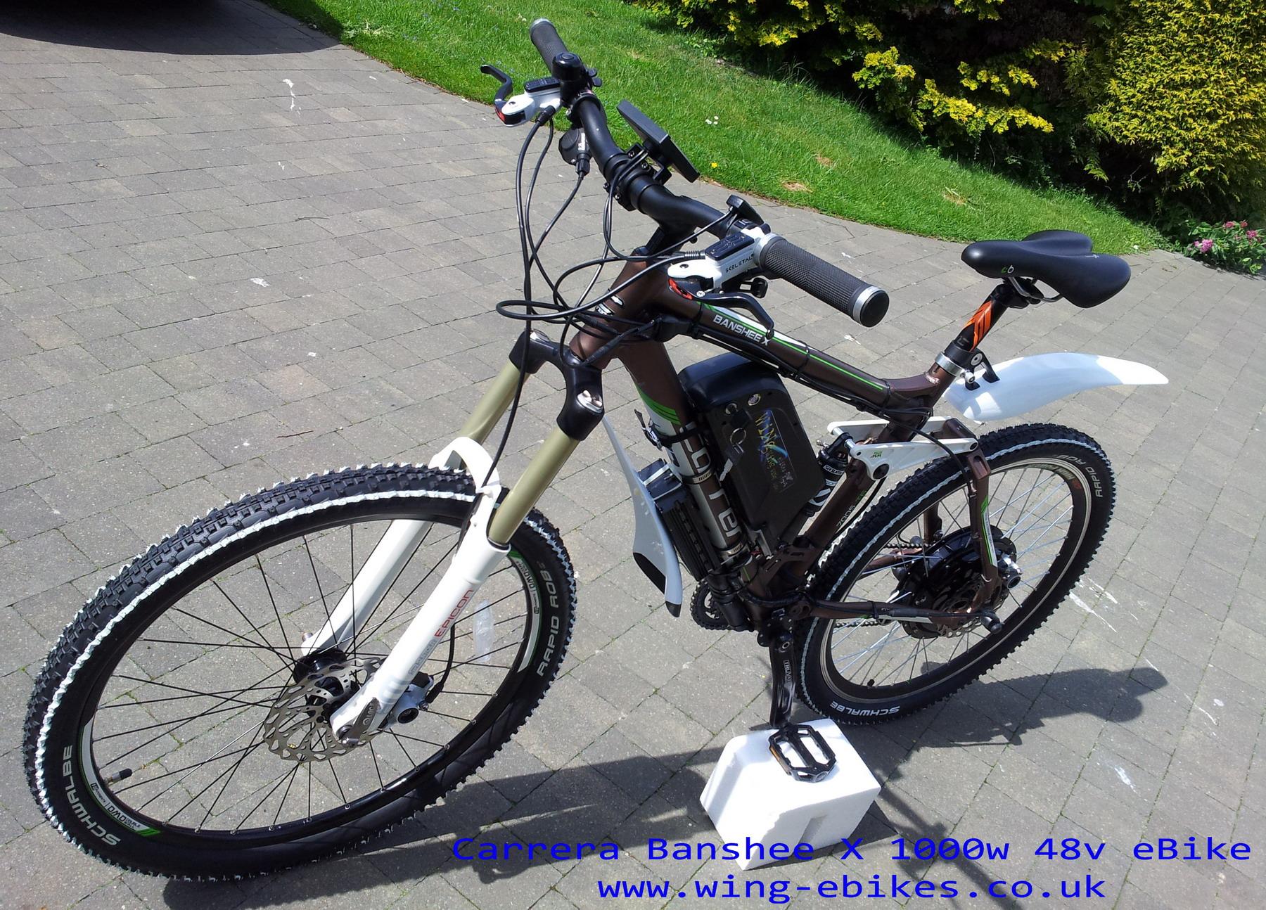 Www Carrera Banshee X Electric Bike 1000w 48v 3