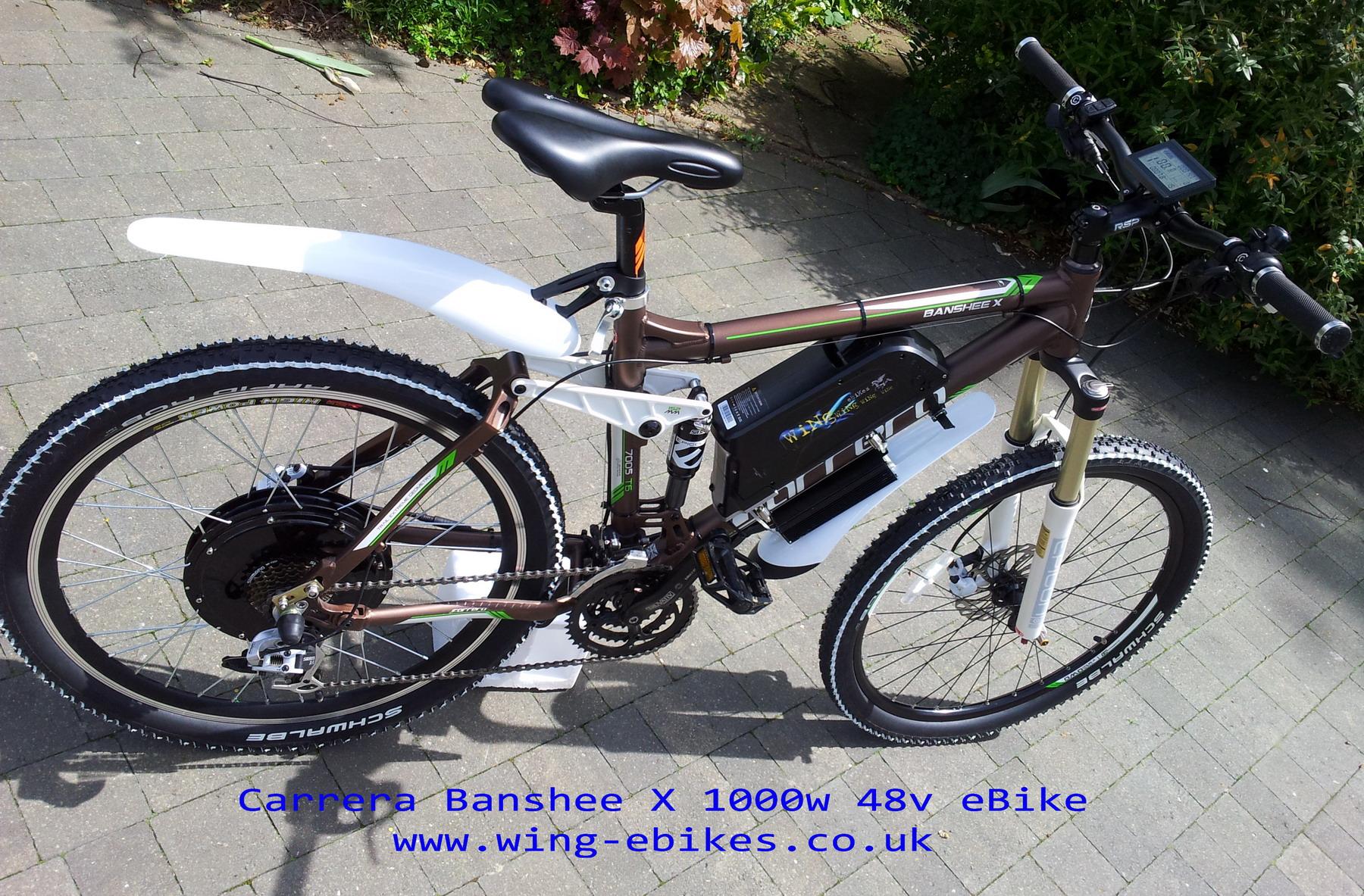 Www Carrera Banshee X Electric Bike 1000w 48v 7