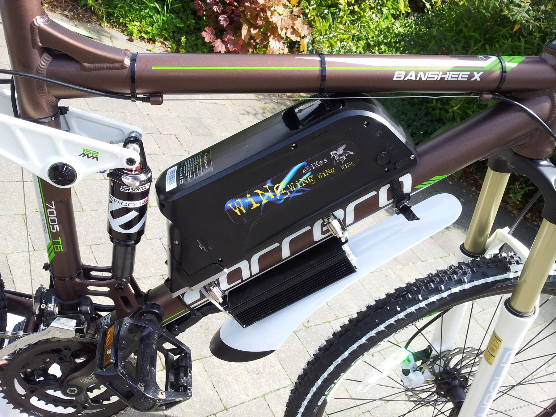 Www Carrera Banshee X Electric Bike 1000w 48v 8