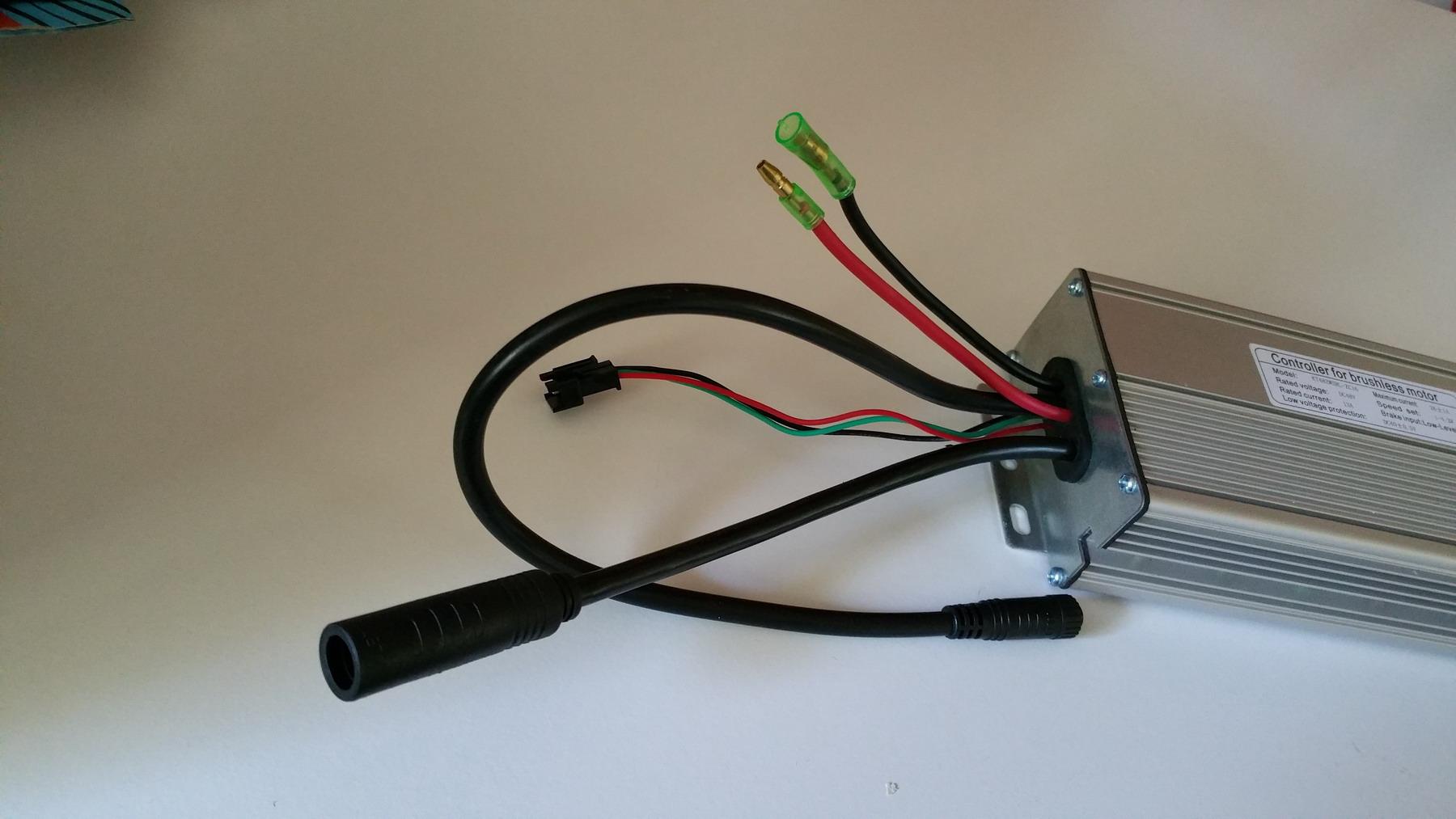 Electric bike controller for brushless motor 48v 28amp for Electric bike motor controller
