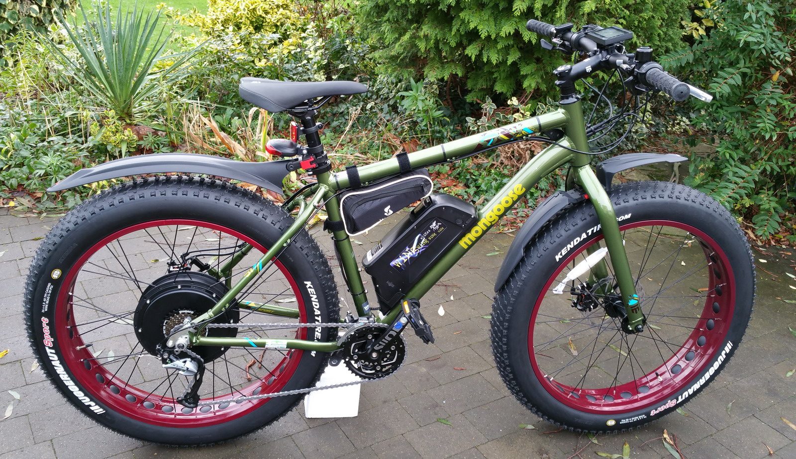 Electric Bike - Mongoose Argus Fat Bike 35mph Very Fast